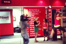 In the News / Important people keep talking about us. See who thinks #Fitwall is the Future of Fitness. #trainsmarter