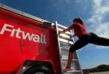 On the Road / Sometimes you just have to take the #workout outside. Here's where #Fitwall goes when on the go!