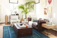 SEE guest pinner: Homepolish / Inspiration behind the small space makeover by ingenious interior design service, Homepolish.  / by goop