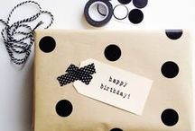 - gift making - / - my favourite gift wrapping ideas, cards and other DIY ideas -