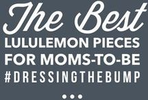 Lululemon for Maternity...and beyond! / The best lululemon pieces for maternity, but also great for after baby is born!