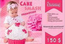 Séance photos Smash Cake / Séance photos smash cake, séance photos pour les un an de bébé!!