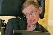 Stephen Hawkins ( 1942 - ... ) / ...der berühmte Physiker des 20/21 Jahrhundert