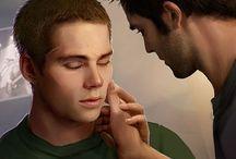 """#sterek / Stiles (Stilinski) + Derek (Hale) = Sterek Dylan O' Brien & Tyler Hoechlin TV Show:  """"Teen Wolf"""""""