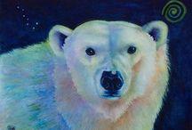 Watercolor wildlife paintings / Watercolor paintings of wildlife