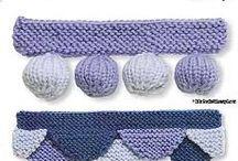 Bordury pletené