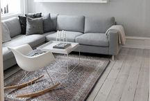 Home interior / My interior inspiration- modern nordic interior with Scandinavian design and vintage finds.