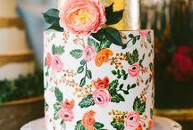 Cake! / #wedding #cake #ideas #inspiration #creative #design #nontraditional #dessert