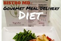 Bistro MD Diet / BistroMD is a gourmet meal delivery diet. The food is delicious and the portions are huge! I can't believe that I am losing weight on this #diet. #Bistromd #diet #healthyeating #diettips #losingweight