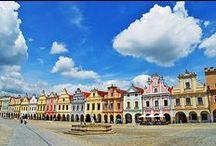 Česká města / Czech towns and cities / by OREA HOTELS