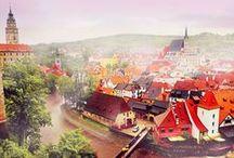 Český Krumlov / Cesky Krumlov Czech Republic  / by OREA HOTELS