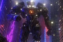 Pacific Rim / Pictures from and fan made pictures from the movie.