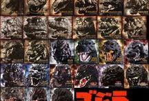 Godzilla / Godzilla and other godzilla movie monsters