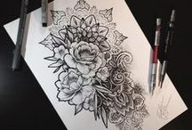 Pen & Pencil Art - By Others / I'm a novice with pen or pencil art - freehand painting a greeting card is more my style.  I wish I could say these drawing are mine. This is a little example of what inspires me. Maybe some day, I'll add my own designs.