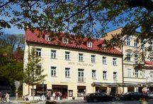 Orea Hotel Anglický Dvůr / Orea Hotel Anglický Dvůr****, Mariánské Lázně (Marienbad), Czech Republic   / by OREA HOTELS