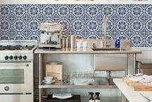 Kitchen / White, Scandinavian, Beautiful, Style, Decoration