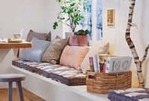 Interior / Interior, dream, light, glamour, lot of white, pastels, eclectic