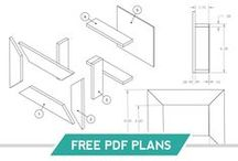 | Gray House Free Plans | / Free Plans for Home Decor and Furniture Projects from the Gray House Studio Blog