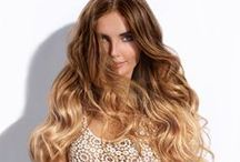 Sombre hair by highlights or tie and dye / Ombre hair / highlights / tie and dye / sombre hair / sunkissed hair / blonde balayage + How to naturally lighten your hair without damage :)