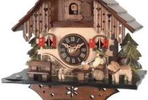 German Clocks & Watches - Deutsche Uhren / German wrist watches, time keepers, chronographs but also the famous Black Forest cuckoo clocks