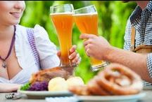 Love Bavaria & Oktoberfest - Liebe Bayern & Oktoberfest / Everything that we associate with Bavaria and the Oktoberfest - brotzeit, foods, beer, dirndl, lederhosen, home decor etc.