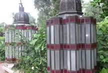 Moroccan Garden lantern inspiration.. / Taken from my travels at La Mamounia..