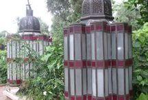 Moroccan Garden lantern inspiration.. / Taken from my travels at La Mamounia..