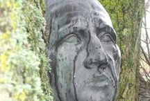Garden Art / Garden Art inspiration.. Taken from my travels to Sculpture by the Lakes, Dorset
