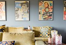 Original Vintage Art Posters / Vintage art was created to grab your attention; make a statement with one in your home!