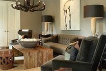 Home & Decor: Rustic Edition / Warm hues, leather accents, and cabin-inspired decor creates the coziest of atmospheres.