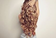 Hair goals ♥ / Motivation to grow my / your hair long Shiny straight to curly long hair photos ^^