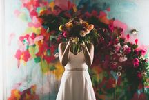 Artsy Wedding
