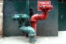 Standpipes, sprinklers - Tuyaux