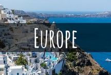 Travel in Europe / Travel tips, packing guides and itineraries for Europe. Think weekends in London and Paris, skiing in the Swiss Alps, visiting Castles in England, island hopping in Greece and much more!