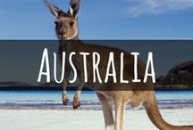 Travel to Australia / The best places to visit in Australia. Including; East Coast road trips, Sydney, Melbourne, Byron Bay, Perth  Tasmania, Ayers Rock and more. Beautiful beaches, sun and nature await.