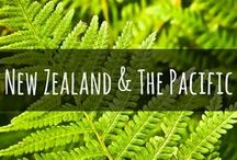 Travel to New Zealand & The Pacific Islands / Discover the real 'Middle Earth' with our guides to travel in New Zealand or spend a week or two in the island paradise of the South Pacific.