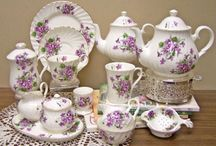Tea Parties and More / China tea cups, lace tablecloths, silver spoons with sugar cubes and the sweet fellowship with those you love around a tea party. Beautiful, in deed!