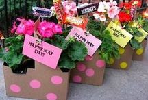 Baskets of Love / The joy of giving and receiving a May basket filled with love