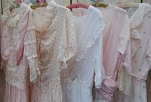 """Dress Closet / """"She maketh herself coverings of tapestry; her clothing is silk and purple."""" (Proverbs 31:22)"""