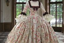 Dresses of Another Time / To have lived in another era. Beautiful, in deed.