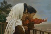 Iman Maleki Paintings... / Iman was born on 1976 in Tehran. He has been fascinated by the art of Painting since he was a child. At the age of 15, he started to learn painting under the mastery of his first and only teacher - Morteza Katouzian - who is the greatest realist painter of Iran.