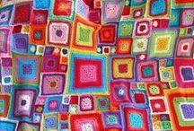 Blanket / deky šité, háčkované, pletené, patchwork