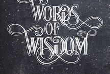 """Words Of Wisdom """"WOW"""""""