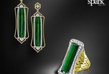 """Colored Gemstones / Spark Creations has been a leading creator for the most beautiful precious jewelry for over forty years. """"When it comes to color, nobody does it better!"""""""