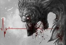 "Creatures <3 Fantasy  / ""Fear makes the wolf bigger than he is."" ~ German Proverb"