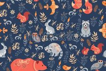 Pattern / Seamless patterns, textile designs