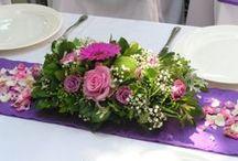 LILA / Virág és dekorációs kompozíciók a lila jegyében.