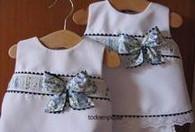 Costura Infantil / vestidos para niños y niñas