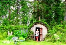 Traditional Swedish Cabin Style / Absolutely Old Fashioned Swedish Countryside.