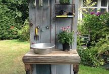 Ideas for garden / Ideas on DIY projects and other technical aspects of gardening.